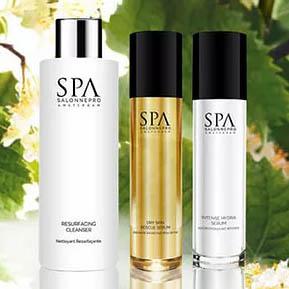 Spa salonne pro huid
